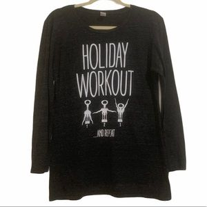 3/$33 Holiday Workout Wine Opener Lg Slv Grey top